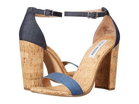 Promo Sale Wedges Heels Sepatu Flat Murah steve madden glaare sandals on sale steve madden carson c denim fabric womens shoes sandals