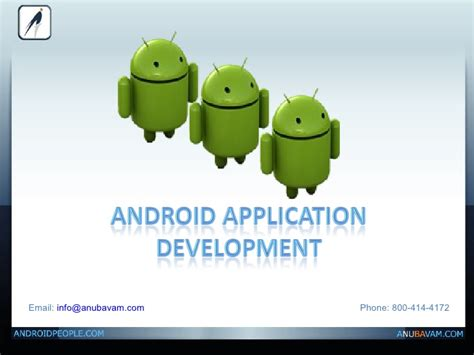 When Android Was Developed by Android Application Development