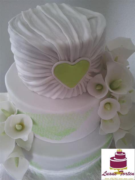 Hochzeitstorte Wei Gr N by Hochzeitstorten Gr 252 N Wei 223 Hochzeitstorte Weiss Gr N Alle