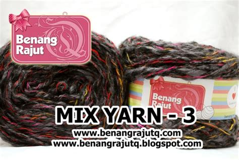 Benang Mix benang rajut limited mix fancy yarn 3 benangrajutq