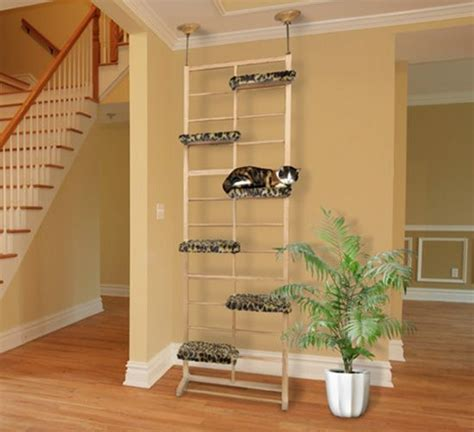 Cool Wall Shelves by Classy Cat Furniture For The Discerning Cat Lover