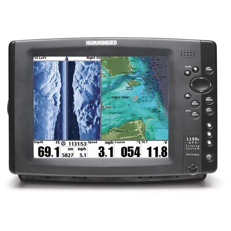 humminbird 174 hd 1198c si sonar gps fishfinder 203069