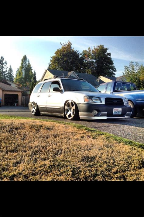 subaru forester lowered subaru forester xt rotiform lowered stance slammed