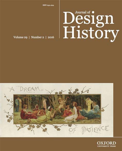 design issues journal online journal of design history publications design history