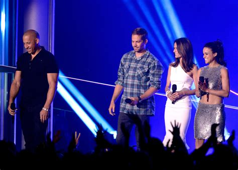 fast and furious 6 movie actors names fast furious 6 cast attend 2013 mtv movie awards