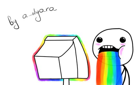 Rainbow Face Meme - rainbow meme background www imgkid com the image kid