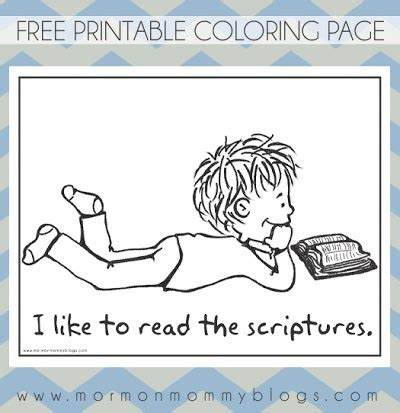 coloring pages reading the bible 17 best images about lds coloring pages on pinterest