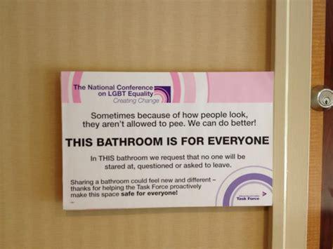 gender inclusive bathrooms all gender bathrooms us message board political