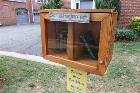 tiny library neighborhood installs a little free library arlnow com