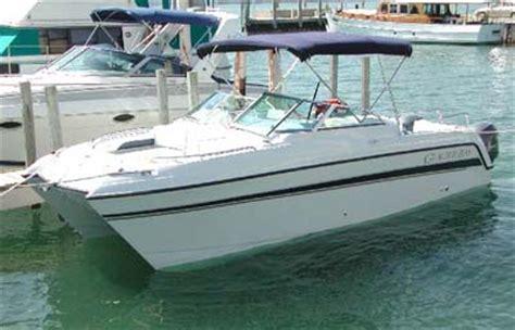 catamaran engine twin engine catamarans
