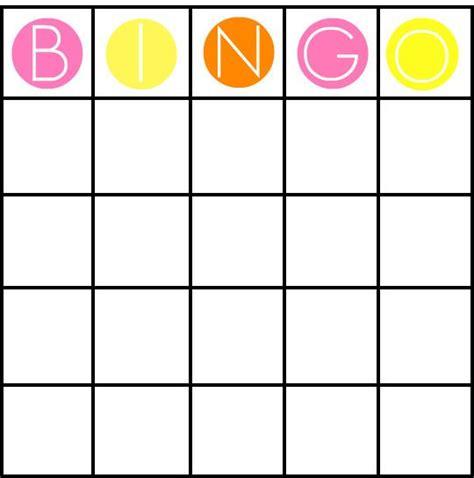 picture bingo card template best 25 bingo card template ideas on blank