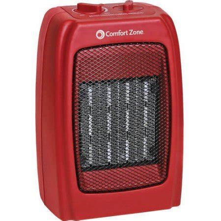 Comfort Heat Reviews by Comfort Zone Ceramic Heater In Space Heaters Review