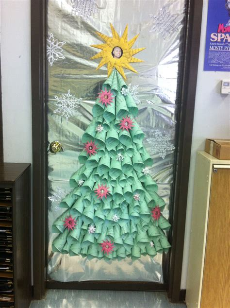 christmas tree decorating contest ideas the choir room was the winner of my school s door decoration contest we used folded