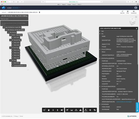lego architecture meets bim part   desktop model