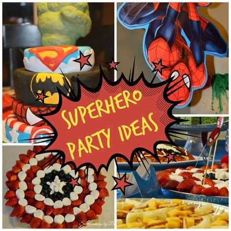 party ideas superhero party ideas surroundings by debi