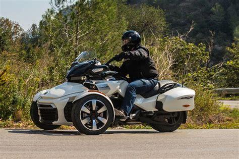Motorrad Führerschein Beschränkungen by Can Am Spyder F3 T Erster Test Schon Gefahren