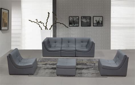 makri contemporary gray living room set with bonded 1000 ideas about leather sectional sofas on pinterest