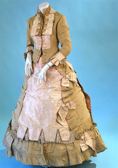 coffee colored dress all the pretty dresses 1870 s pink and light coffee
