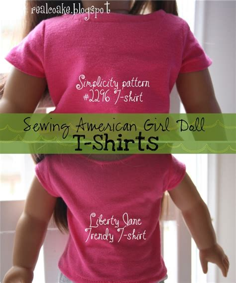 t shirt pattern for american girl doll american girl doll pattern sewing american girl doll t