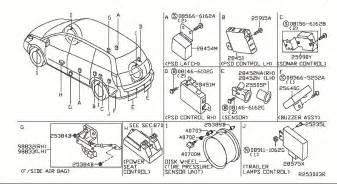 Nissan Quest 2006 Parts Nissan Rogue Horn Location Wiring Diagram Website