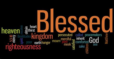 b is for beatitudes peripheral perceptions