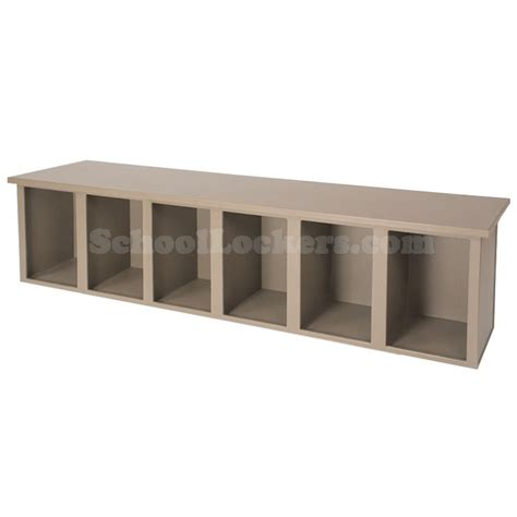 plastic locker room benches plastic bench with 6 cubbies