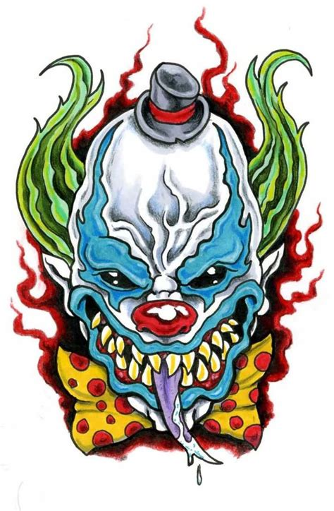 tattoo designs evil clown evil images designs