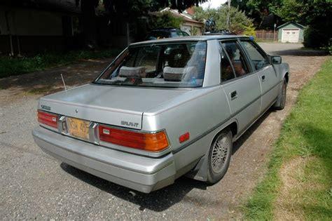 how to sell used cars 1985 mitsubishi galant free book repair manuals 1985 mitsubishi galant information and photos momentcar