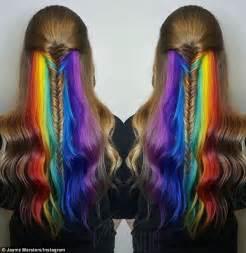 rainbow color hair ideas 16 rainbow hair color ideas you ll go crazy over