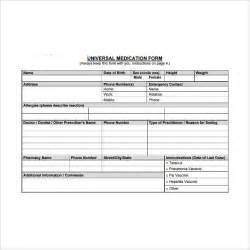 doctor prescription templates 5 free documents