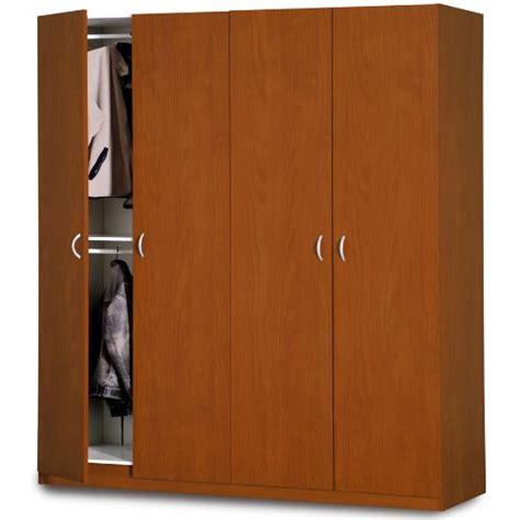 guardaroba economico armadio guardaroba 4 ante ciliegio legno alto kit da