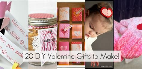 valentines gifts 20 diy gifts to make