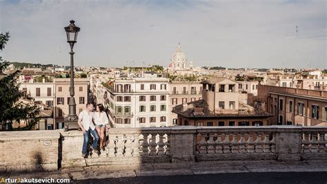 My View Of Rome by Engagement In Rome Pre Wedding Photography In Italy