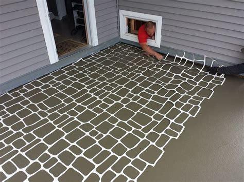 austrian cobblestone stencil driveway sidewalks floors