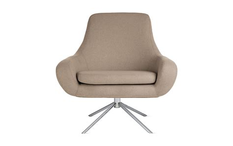 swivel lounge chairs noomi swivel chair design within reach