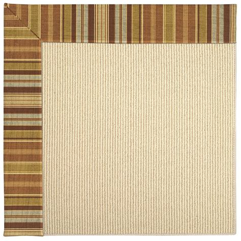 capel zoe sisal button 5 ft x 8 ft area