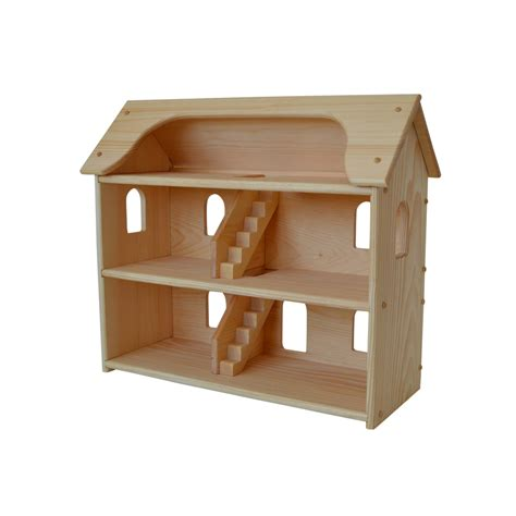 toys doll house handcrafted natural wooden toy dollhouse waldorf