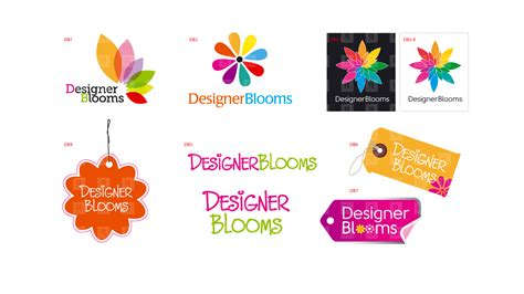 branding design study designer blooms logo republik brand communications inc