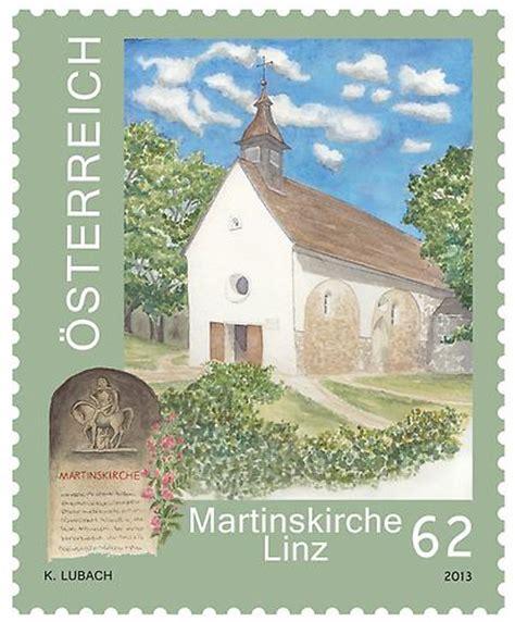 irc section 414 m martinskirche linz 2013 briefmarken kunst und kultur