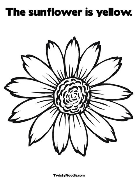 coloring page of vase with sunflowers select and print coloring page sunflower print sunflower