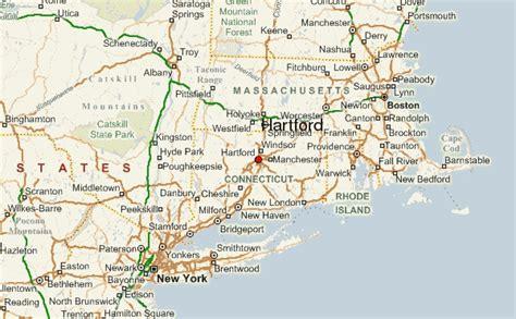hartford usa map hartford location guide