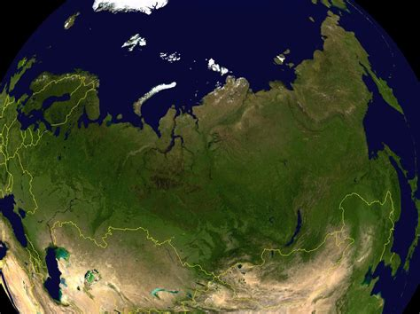russia map satellite russia map russia satellite image breeds picture