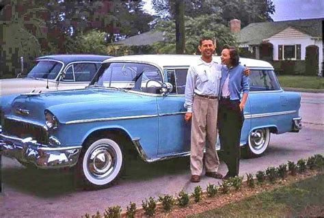 1950 chevrolet station wagon five friday fifties and sixties kodachrome images