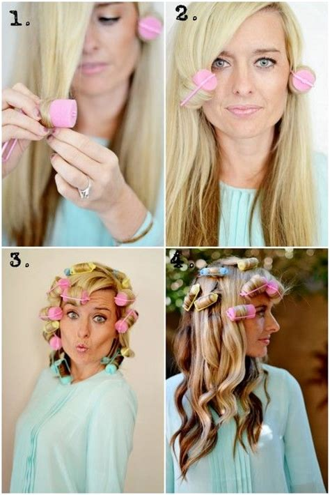 how to section your hair for curling 106 best no heat curls images on pinterest