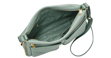 Fossil Piper fossil piper small crossbody in green lyst
