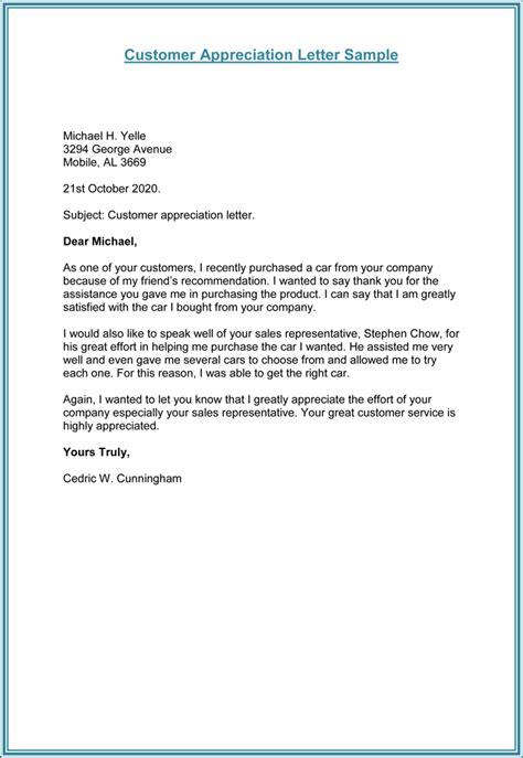 how to write a business letter to customers with sample letters
