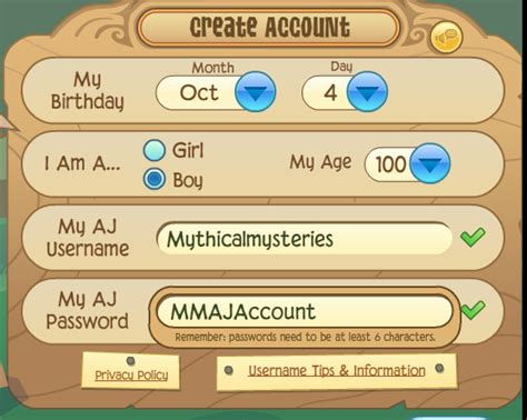 animaljam usernames and passwords 2016 palmtreepaperiecom image gallery aj accounts