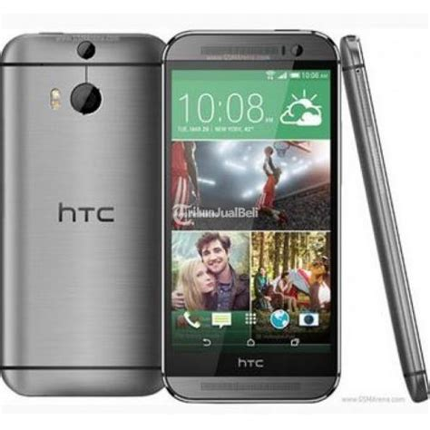 Hp Htc M8 handphone murah htc one m8 gun metal 4g lte asia version