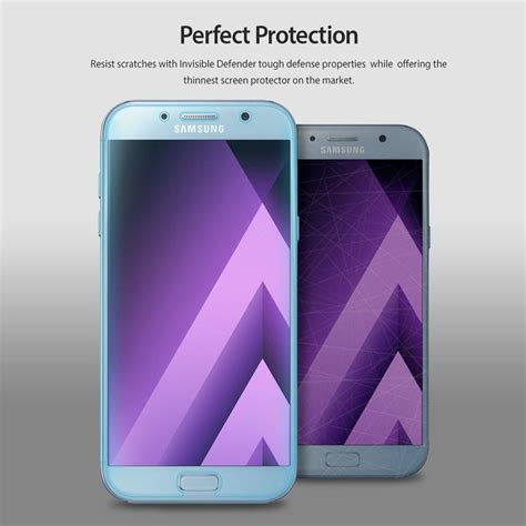 Ringke Id Invisible Defender Galaxy S9 Plus Screen Protector galaxy a5 2017 ringke 174 invisible defender 3 1 pack screen protect