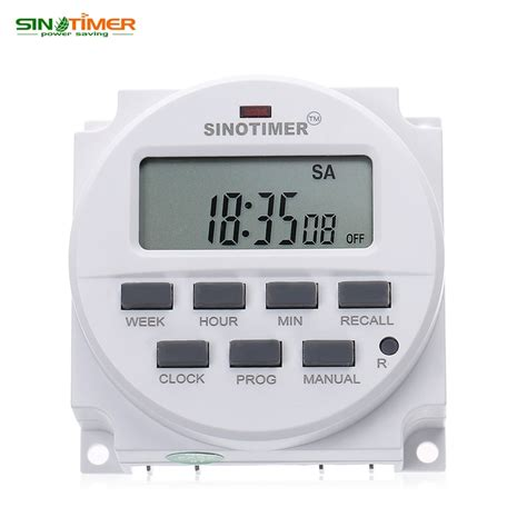Timer Digital Programmable Listrik 220v 16a 2000 W Max buy wholesale 240v timer switch from china 240v